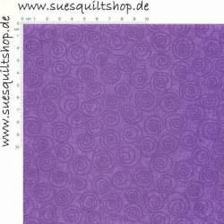 Free Spirit Designer Pinwheels Purple, Spiralen rotviolett