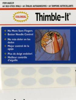 Thimble-It, 64 Klebeplättchen pro Packung