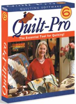 Software Quilt Pro version 6 für Windows  *VOLLVERSION*   *** BESTSELLER ***