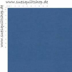 107 Kona Cotton Cadet Blue, mittel staubblau uni