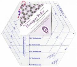 My Favorite Hexagon Ruler 2 bis 4.5 INCH