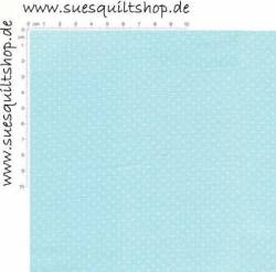 Quilting Treasures Mini Dot Aqua