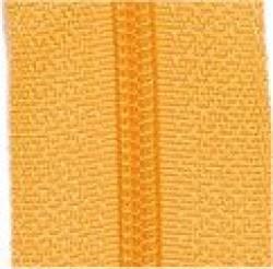 Endlosreißverschluß gelb - OHNE Zipper!!!