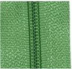 Endlosreißverschluß 3 mm Schiene Fb. 082 grasgrün - OHNE Zipper!!!