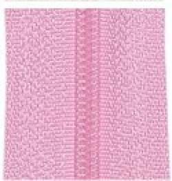 Endlosreißverschluß rosa - OHNE Zipper!!!