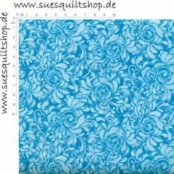 Fabric Freedom Butterfly Meadow blau