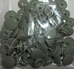 Snaps Druckknöpfe 25 stk. ca. 12,4 mm, B30 blassgrün