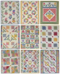 Anleitung Fat Quarter Quilting 1930s Style