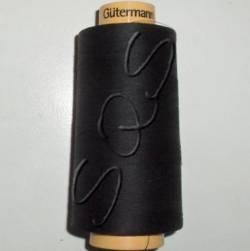 Gütermann Nähgarn 100% Baumwolle, 5000 m, Fb. 5201 schwarz
