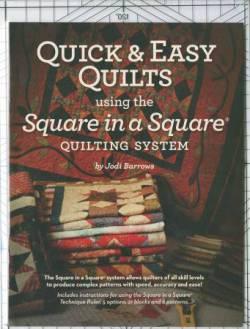 Square In A Square Ruler Book 9x12 inch