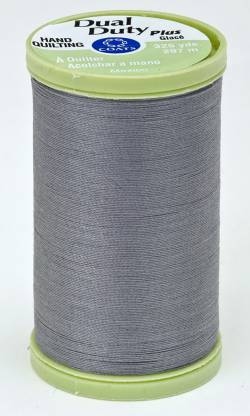 Coats Handquiltgarn Dual Duty Plus ca. 297 m, Fb. 0620 Slate, schiefer