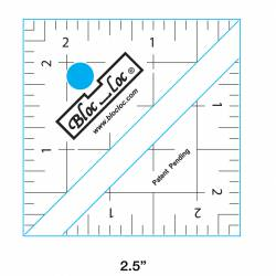BlocLoc Ruler  2.5 inch