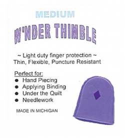 Wnder Thimble Medium Wonder Thimble Fingerschutz