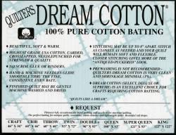 Dream Cotton Request natur  Queen Size 93x108 inch