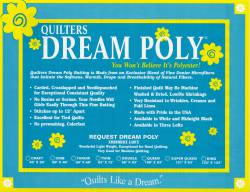 Dream Poly Request weiss King Size 120x120 inch