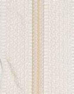 Endlosreißverschluß 3 mm Schiene Fb. 090 sand - OHNE Zipper!!!