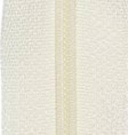 Endlosreißverschluß 3 mm Schiene Fb. 052 creme vanille - OHNE Zipper!!!