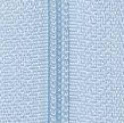 Endlosreißverschluß 3 mm Schiene Fb. 071 hellblau - OHNE Zipper!!!