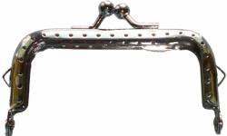 Purse Frame Taschenrahmen ca. 3 x 7,5 cm (Maße ohne #Knubbel#) für Geldbeutel