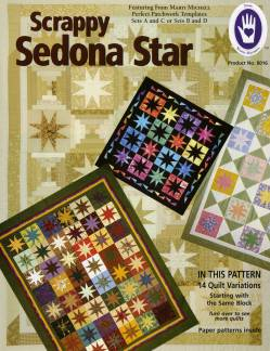 Anleitung Scrappy Sedona Star