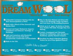 Dream Wool  Full Size 93x96 inch