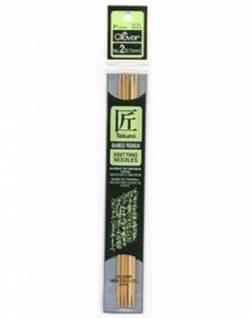 Bambus-Stricknadeln ca. 18 cm lang, Stärke 2.75, Nadelspiel TAKUMI (5 Stück), für Socken