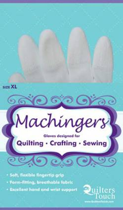 Quilthandschuhe Machingers Extra Large