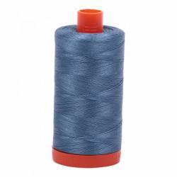 Aurifil Mako Cotton Maschinenquiltgarn 50/2-fach, 1300 m, Fb. 1126 Blue Grey