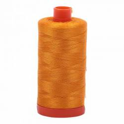 Aurifil Mako Cotton Maschinenquiltgarn 50/2-fach, 1300 m, Fb. 2145 Yellow Orange gelborange