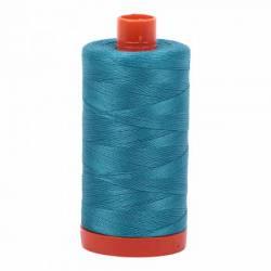 Aurifil Mako Cotton Maschinenquiltgarn 50/2-fach, 1300 m, Fb. 4182 Dark Turquoise dunkel türkis
