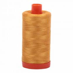 Aurifil Mako Cotton Maschinenquiltgarn 50/2-fach, 1300 m, Fb. 2140 Orange Mustard