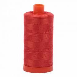 Aurifil Mako Cotton Maschinenquiltgarn 50/2-fach, 1300 m, Fb. 2245 Red Orange