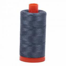 Aurifil Mako Cotton Maschinenquiltgarn 50/2-fach, 1300 m, Fb. 1158 Medium Grey mittelgrau