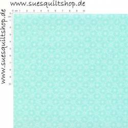 Spectrix Holly Hobbie Blue Diamond Dot hell aqua   >>>  nur noch Fat Quarter <<<<<<