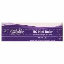 Handi Quilter Mini Ruler  2 x 6 inch