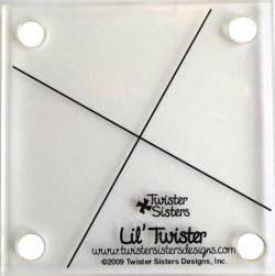 Lil Twister Pinwheel für  5 inch Quadrate