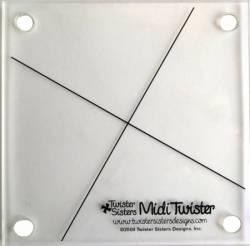 Midi Twister Pinwheel für  6.5 inch Quadrate