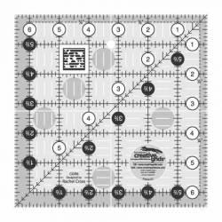 Creative Grids Antirutsch-Lineal  6.5x6.5 inch