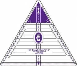 60° Dreieck Lineal 3-9 inch GROSS