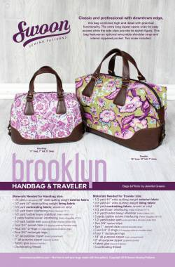 Anleitung Brooklyn Handbag & Traveler Bag