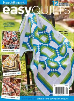 Easy Quilts Fall 2016