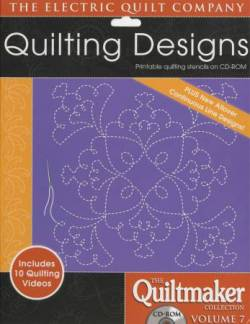 Quilting Designs 7 auf CD Quilting Motifs