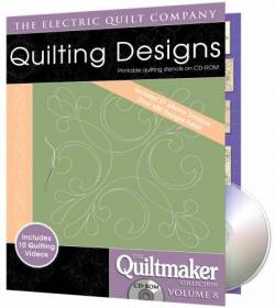 Quilting Designs 8 auf CD Quilting Motifs