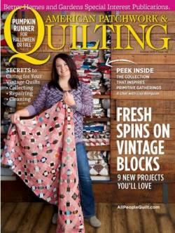 American Patchwork & Quilting No. 142 October 2016