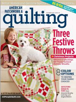 American Patchwork & Quilting No. 143 December 2016