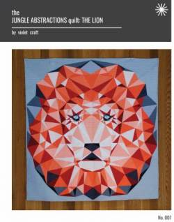 Anleitung Jungle Abstractions: The Lion Quilt