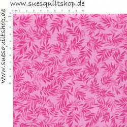 David Textiles Swedish Vineyard Blätter pink auf pink