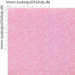 David Textiles Russian Spirals hellrosa >>> Mindestbestellmenge Reststück 0,66 m <<<