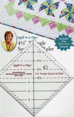 Triangle Square Up Ruler 4.5 INCH