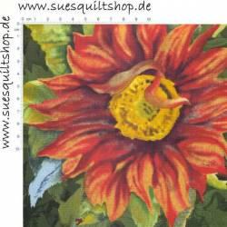 Wilmington Flowers of the Sun, Riesen-Sonnenblumen  >>> nur Fat Quarter <<<
